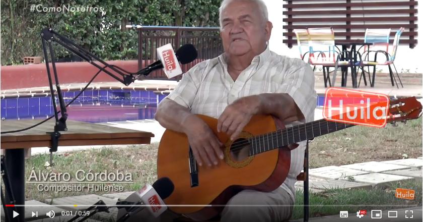 VOCES DE MI TIERRA, ÁLVARO CÓRDOBA EN HUILA TV