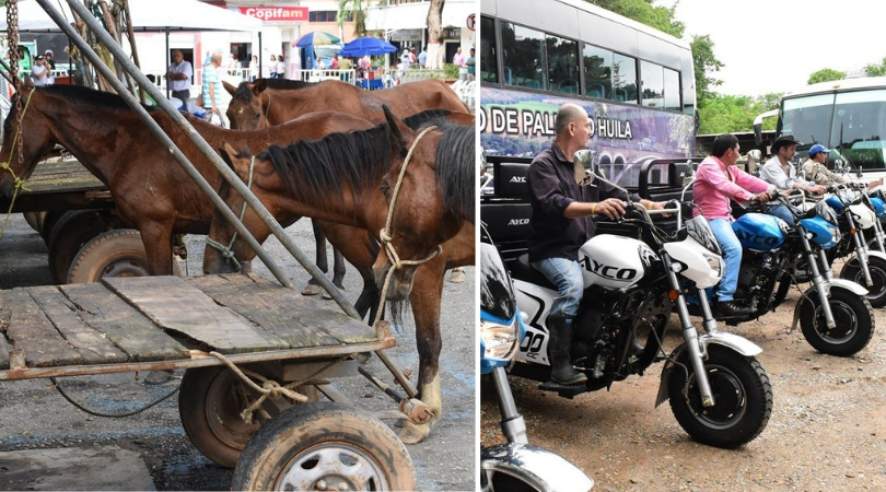 ENTREGA DE MOTOCARROS A ZORREROS