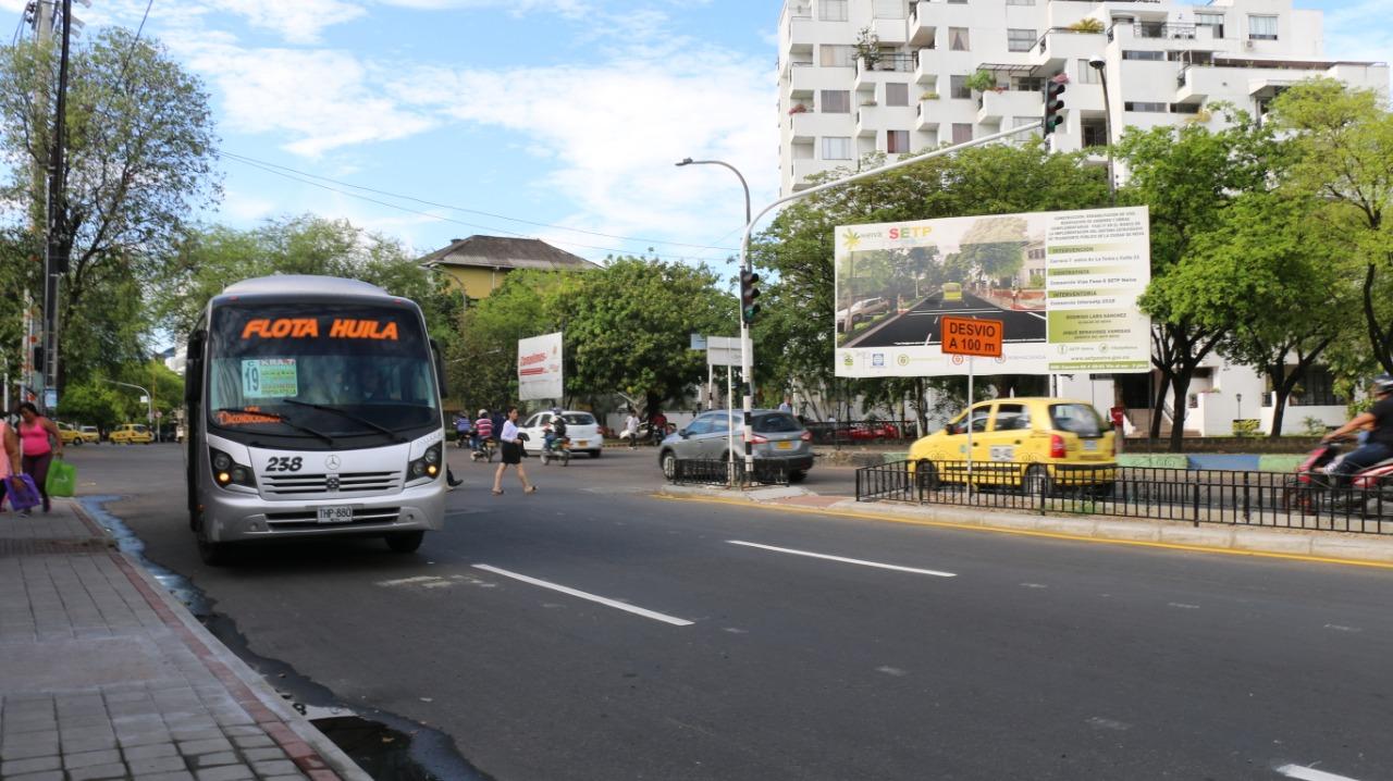 Autorizado incremento en tarifas de transporte público en Neiva