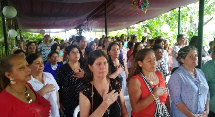Encuentro de mujeres electas por voto popular