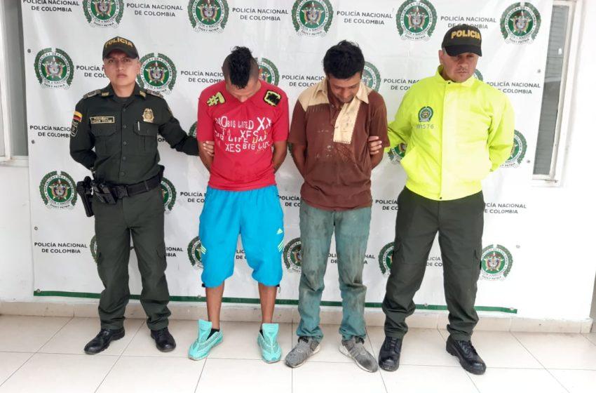 Capturados dos recurrentes delincuentes dedicados al hurto a mano armada