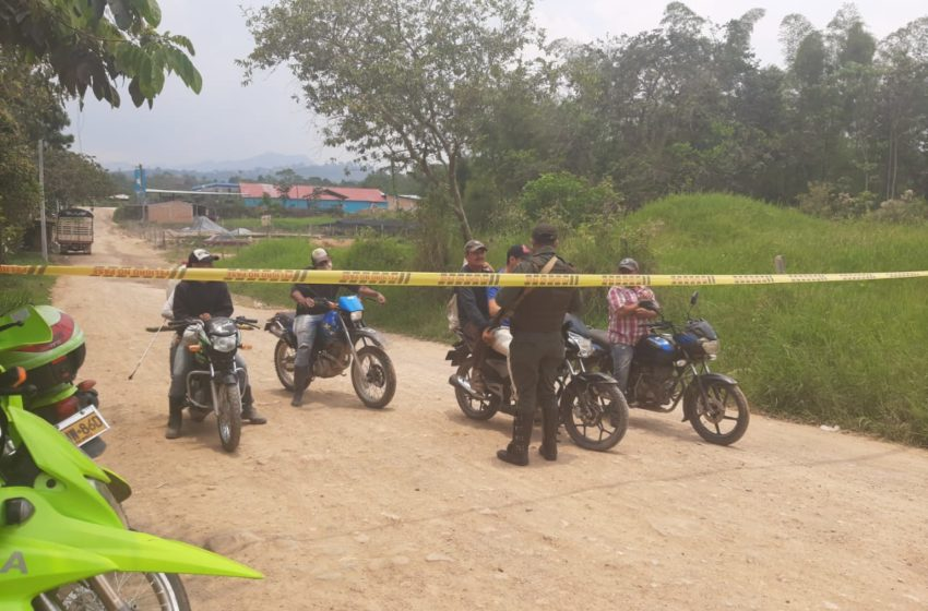 Autoridades realizan control en las vías de acceso al municipio de Acevedo