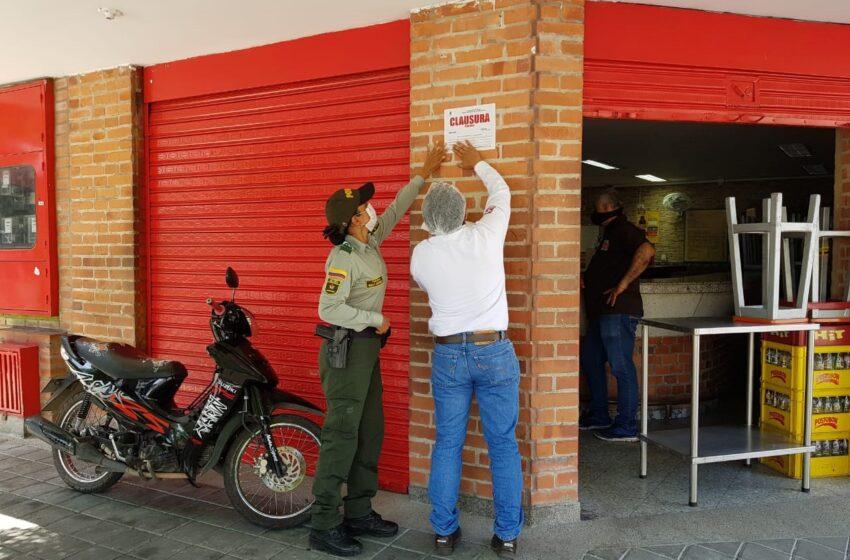 SECRETARÍA DE SALUD DE NEIVA CERRÓ TEMPORALMENTE DOS ESTABLECIMIENTOS