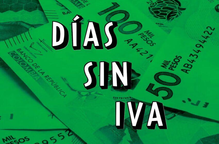 Los tres días sin IVA ayudan a la reactivación, señalan los municipios y cámaras de comercio