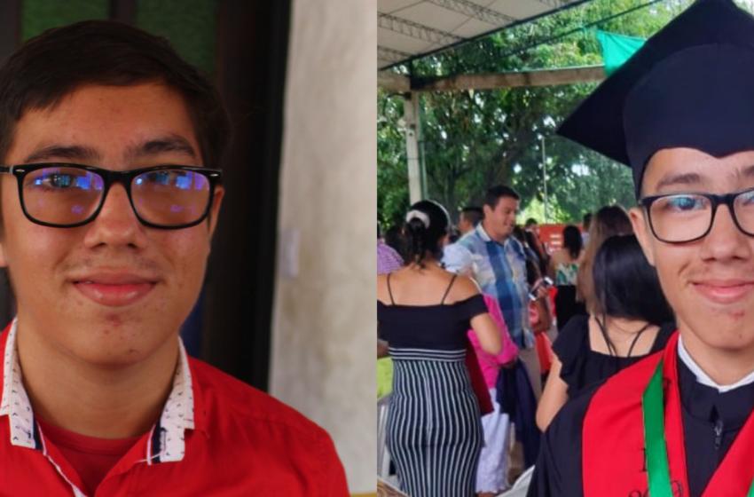 Mejor bachiller rural del Huila recibió una beca