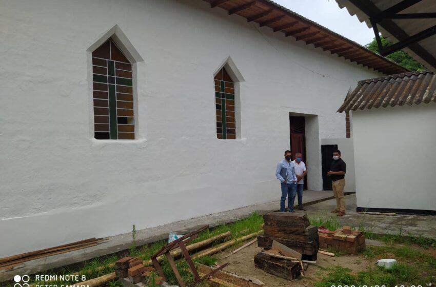 Emblemático templo de San José en Río Loro – Gigante fue restaurado para la comunidad