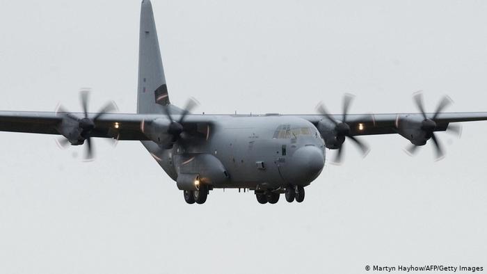 Fuerza Aérea Colombiana recibe primera de tres aeronaves 'Hércules' entregadas por Estados Unidos