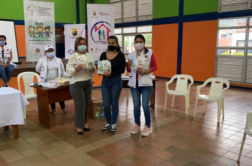 Gestora social del Huila, se une a campaña infantil Dr. Muelitas