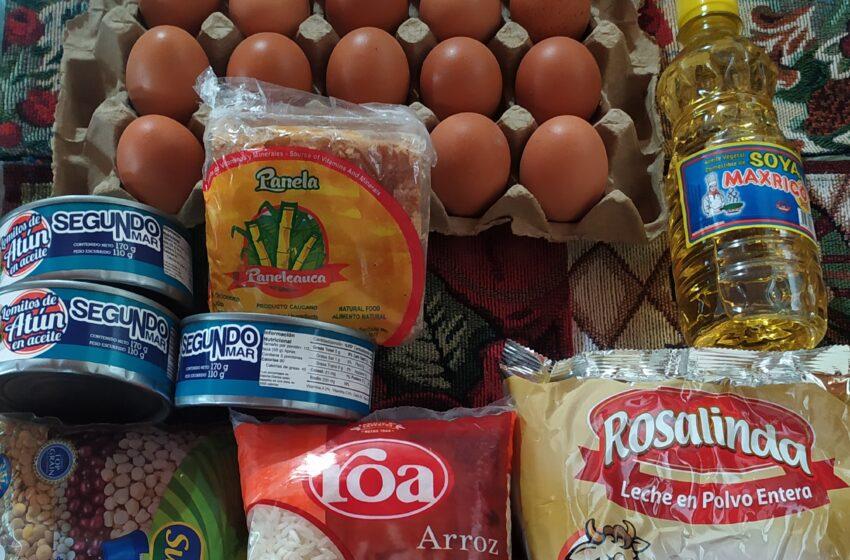 Conozca de qué se compone el kit alimentario del PAE en Neiva.