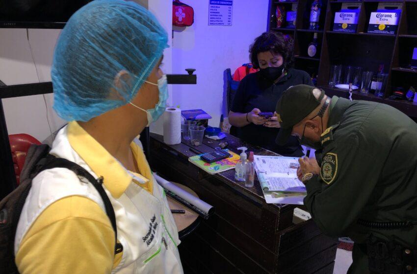 Por incumplir protocolos de bioseguridad, patrulla anticovid cerró tres establecimientos