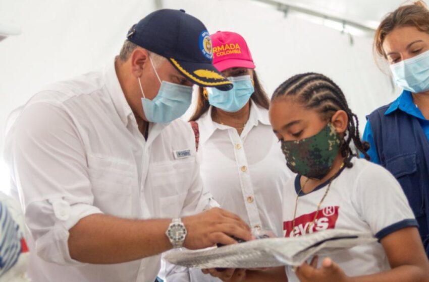 Duque lanza campaña 'Más bicis, menos motos' para incentivar el deporte, la salud y el cuidado del medioambiente en Providencia Isla