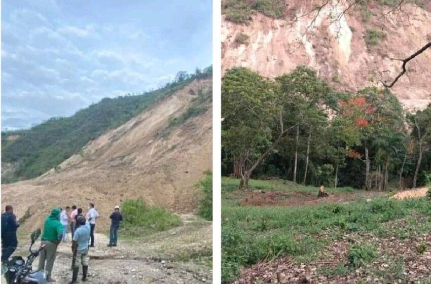 Gran Preocupación por deslizamientos de tierra en Timaná. Hay acueductos en riesgo.