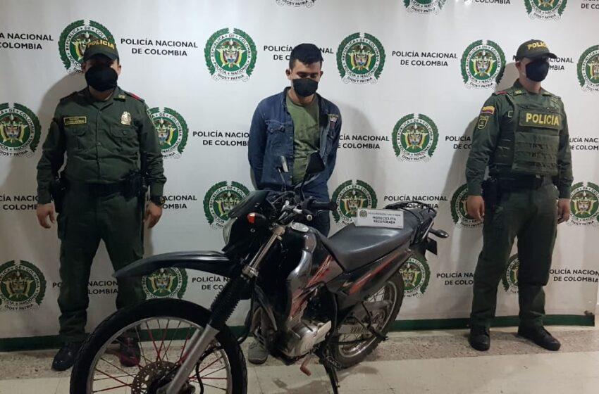 La Policía capturó a dos ladrones