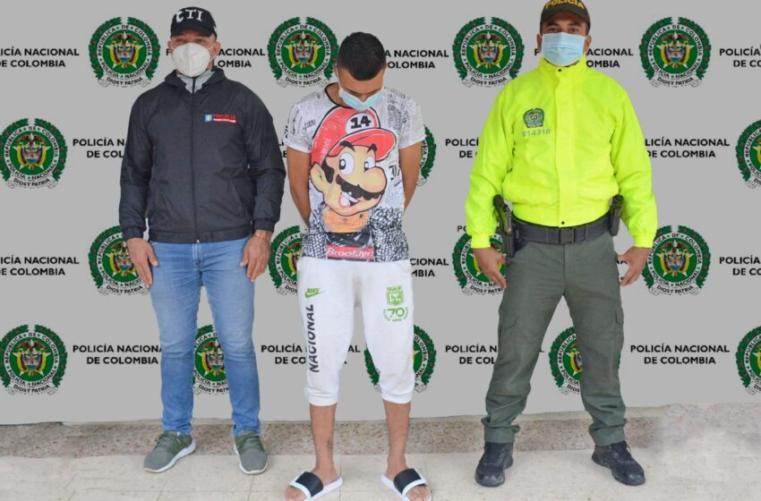 Este sujeto sería el responsable del homicidio que se presentó en Villa Colombia en el mes de septiembre del año 2020