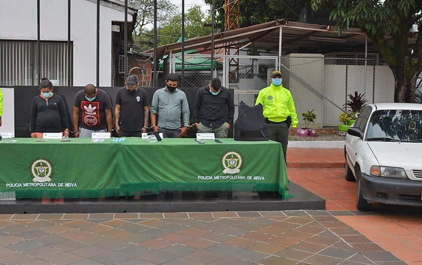 Fiscalía logró medidas privativas de la libertad para siete presuntos integrantes de 'Los Zorros II'