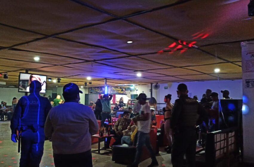 Jornadas de control en establecimientos comerciales y nocturnos en Pitalito