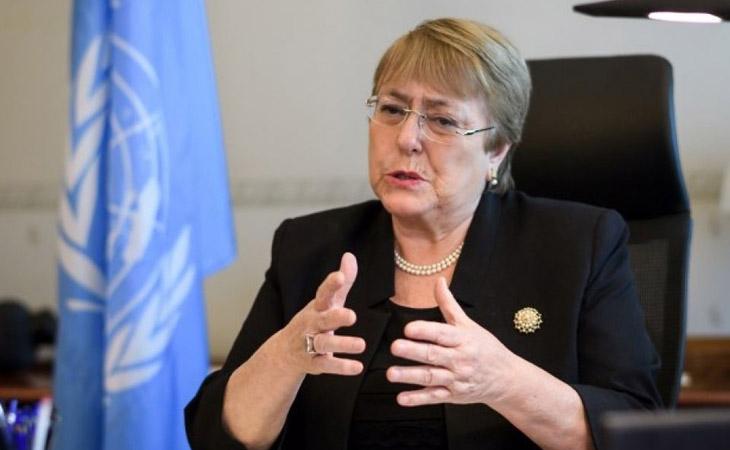 Bachelet llama al diálogo y al respeto de los derechos humanos