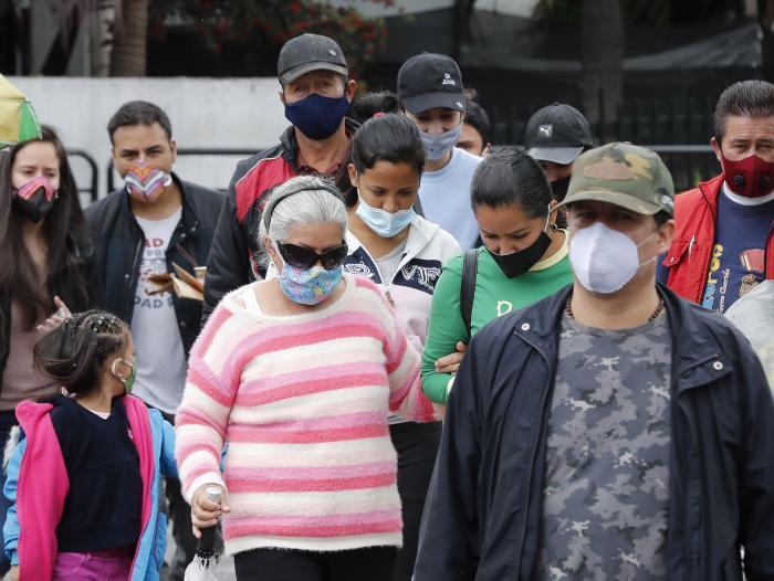 Colombia sumó otros 463 fallecimientos por coronavirus