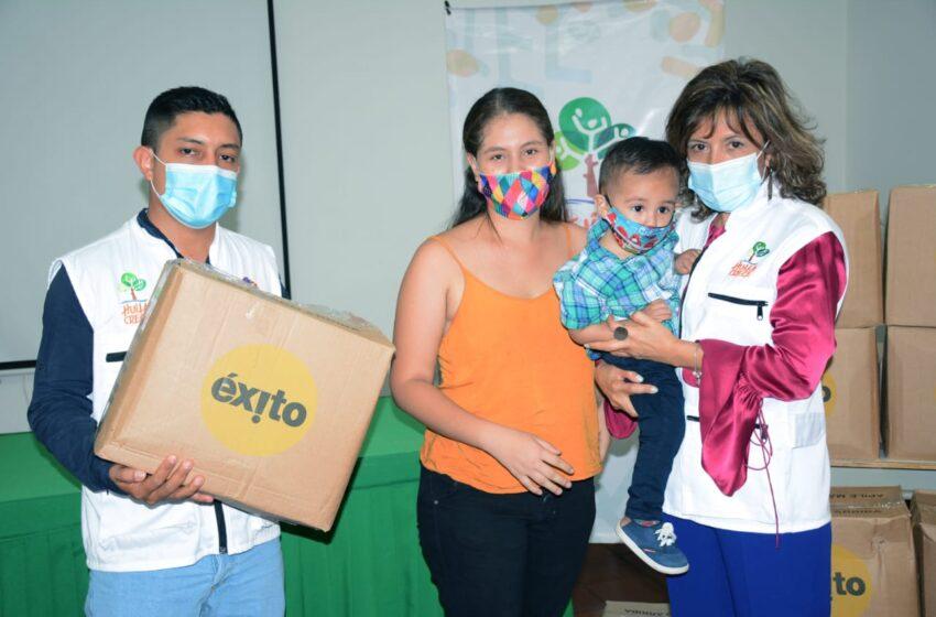 Madres lactantes neivanas recibieron kits alimentarios
