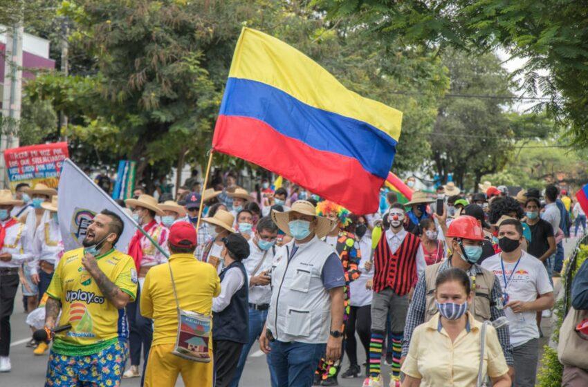 Medidas para jornadas de manifestaciones del miércoles y viernes en Neiva