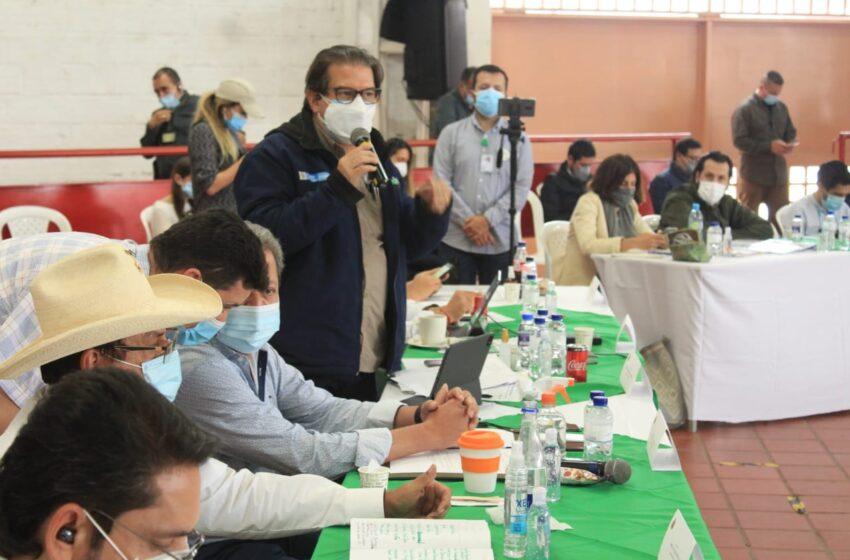 Pitalito fue escenario de la Mesa de Diálogo Nacional