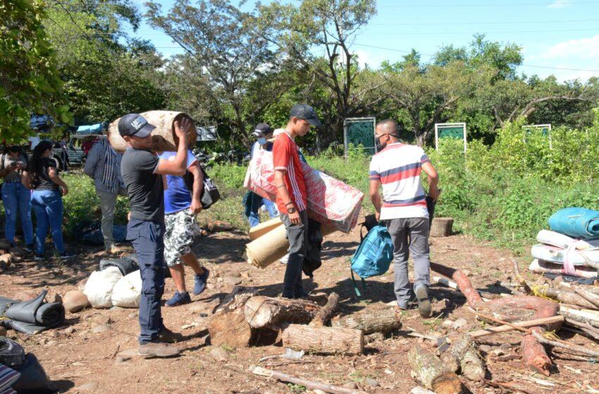 Campesinos ubicados en el oriente de Neiva retornaron a sus parcelas