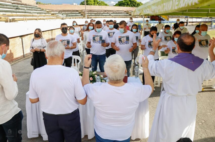 Cenizas del Teacher Berrío fueron esparcidas en estadio de Neiva