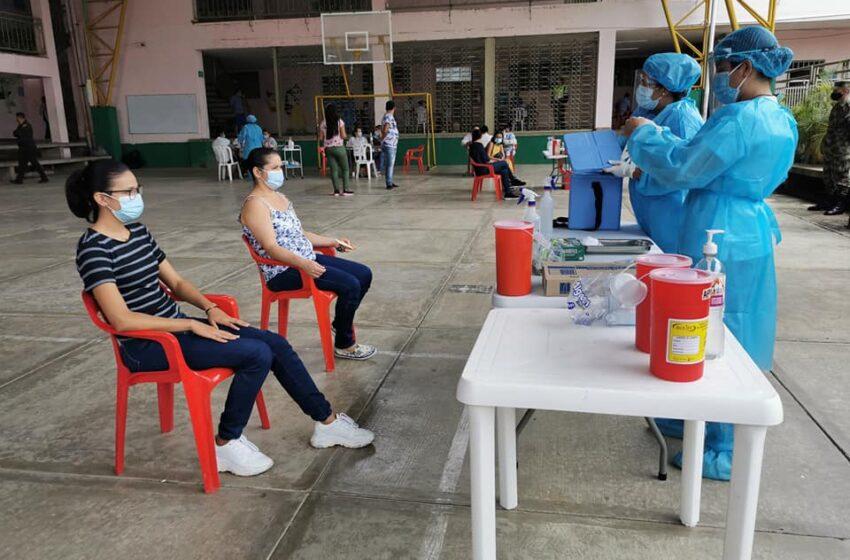 5.260 vacunas contra el Covid19 se han aplicado en Yaguará