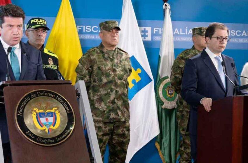 Desde Venezuela se ordenó ataque al presidente Duque y la Brigada 30: Mindefensa