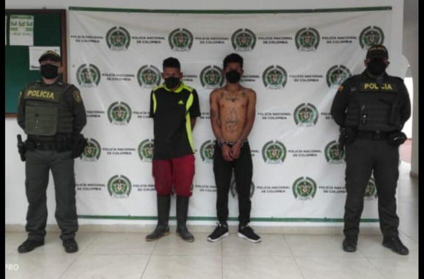 Los gemelos fueron capturados por homicidio agravado en Suaza