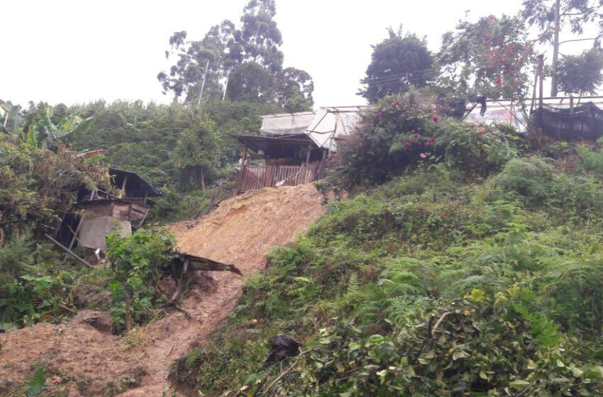 Entregan reporte preliminar de afectaciones en el municipio de Acevedo