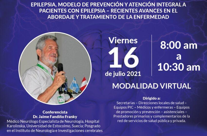 Secretaría de Salud lidera conferencia 'Epilepsia, avances y tratamiento de la enfermedad'