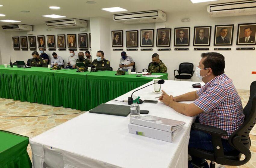 Consejo de seguridad analizó medidas para conmemoración del 20 de julio