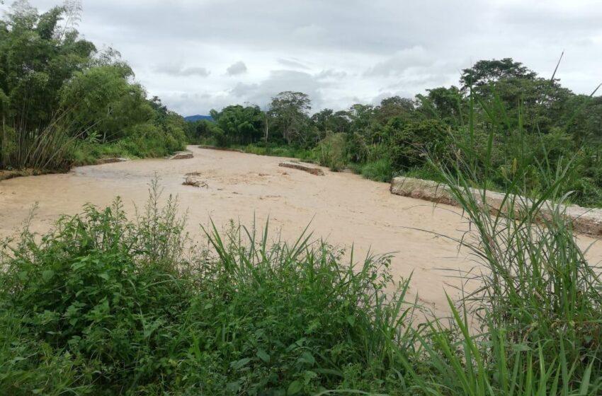 Reporte preliminar de lluvias en el sur del Huila