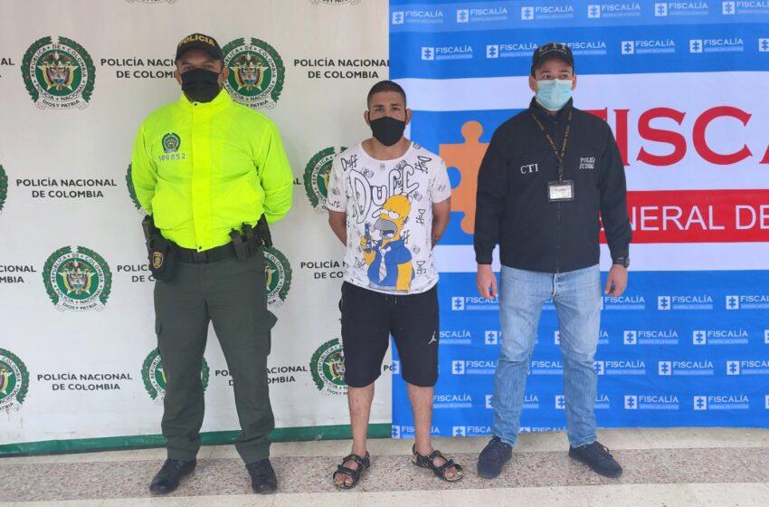 Policía Nacional captura a sujeto por el delito de homicidio