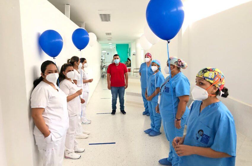 Reconocimiento a personal de la ESE de Neiva por incansable labor en medio de la pandemia