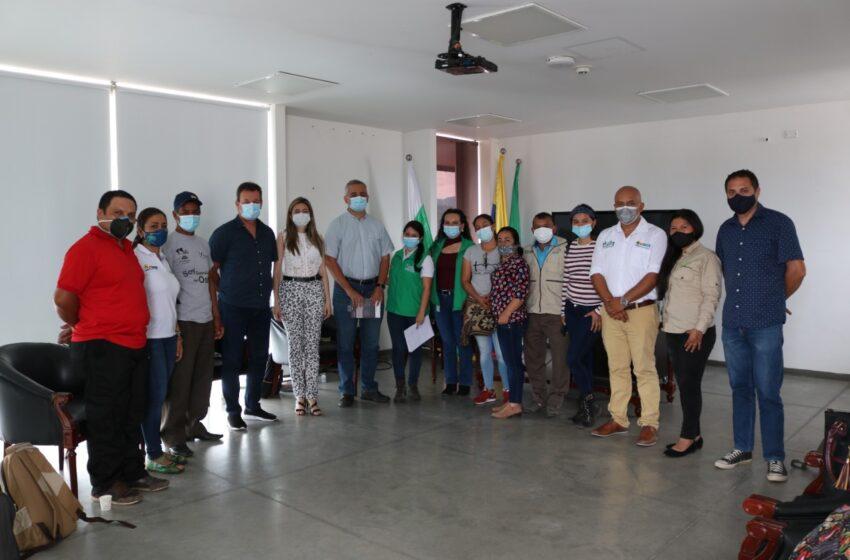 CAM fortalece articulación con organizaciones ambientales del sur del Huila