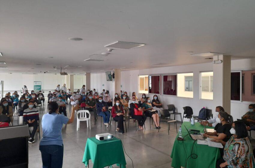 Socialización de  avances en salud para la zona sur del Huila