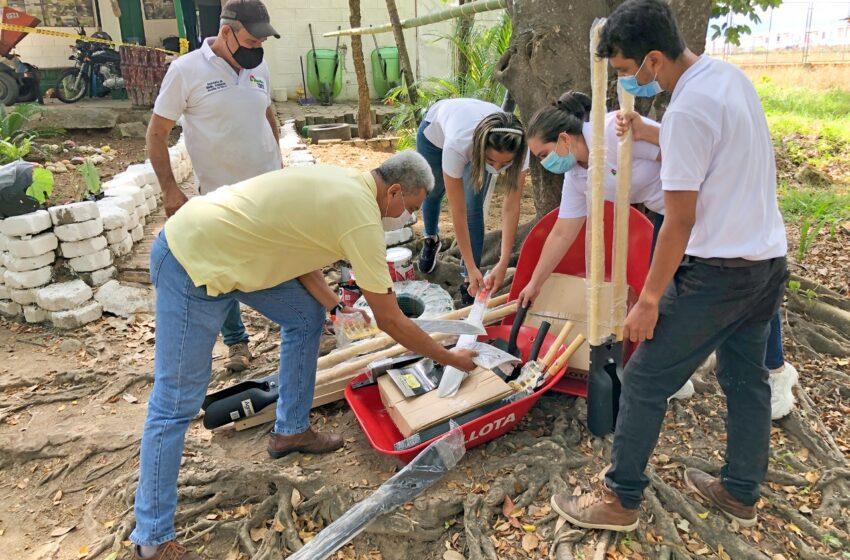 Alcaldía de Neiva sigue entregando herramientas de manejo para la conservación de los ecosistemas