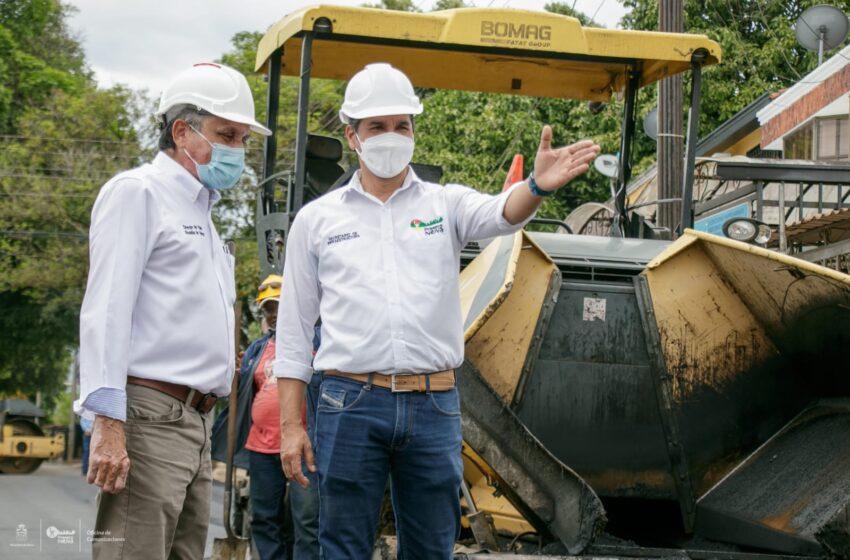 Inician obras de pavimentación en el barrio la orquídea de Neiva